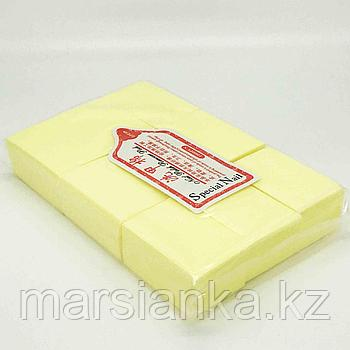 Безворсовые салфетки (желтые), 1000шт