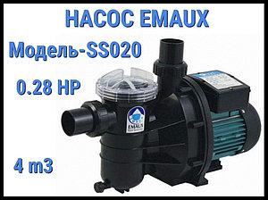 Насос для бассейна Emaux SS020 c префильтром