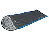 Спальный мешок HIGH PEAK Мод. PAK 1000 COMORT (220х80см)(1,55кГ)(-8/+10ºС) (темно-серый/синий) R 89156