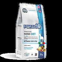 Гипоаллергенный корм Forza10 Diet для взрослых собак, с чувствительным пищеварением (Рыба) - 12 кг