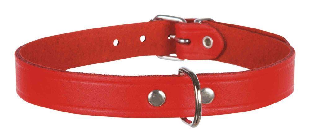 Кожаный ошейник Trixie для собак - 19-24 cм