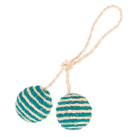 2 мячика на веревке Trixie - 4.5 см
