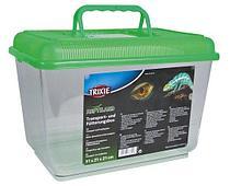 Переноска для рептилий и амфибий, улиток, пауков Trixie - 19x14x12 см