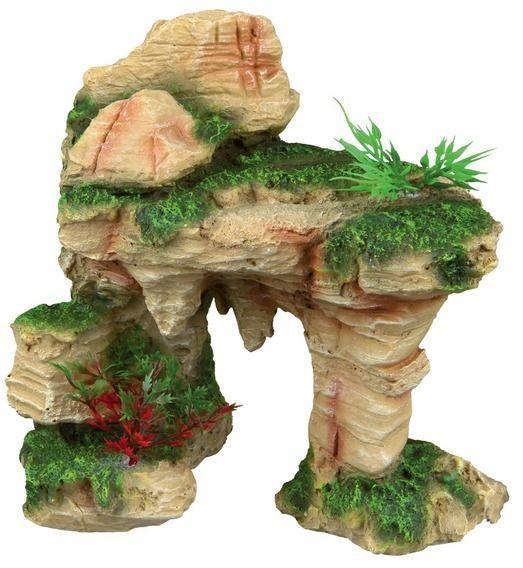 Скала с растениями Trixie - 19 см
