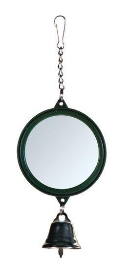 Зеркало с колокольчиком Trixie для птиц - 7 см