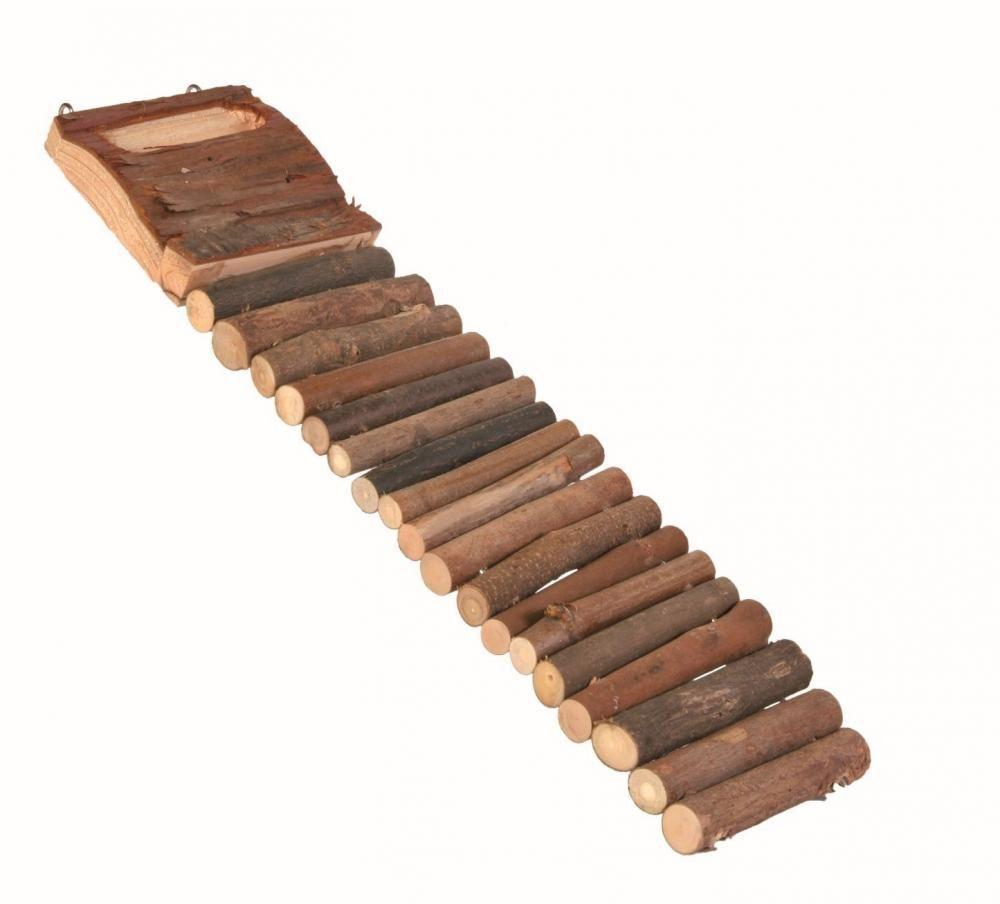 Мост с углублением для еды Trixie для грызунов - 7х27 см