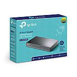 TP-Link TL-SG1008P 8-портовый гигабитный настольный коммутатор с 4 портами РоЕ, фото 3