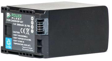 Батарейка (аккумулятор) PowerPlant Canon BP-827 Chip 2800mAh