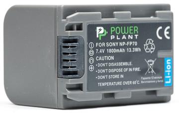 Батарейка (аккумулятор) PowerPlant Sony NP-FP70 1800mAh