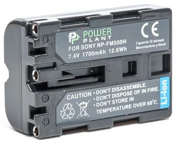 Батарейка (аккумулятор) PowerPlant Sony NP-FM500H 1700mAh