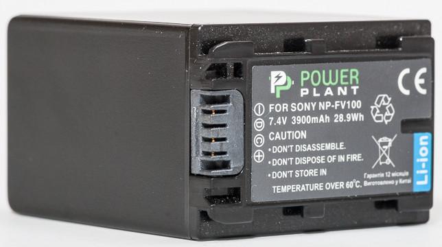 Батарейка (аккумулятор) PowerPlant Sony NP-FV100 3900mAh