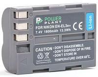Батарейка (аккумулятор) PowerPlant Nikon EN-EL3e 1800mAh