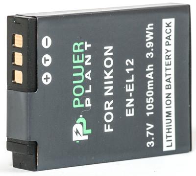 Батарейка (аккумулятор) PowerPlant Nikon EN-EL12 1050mAh