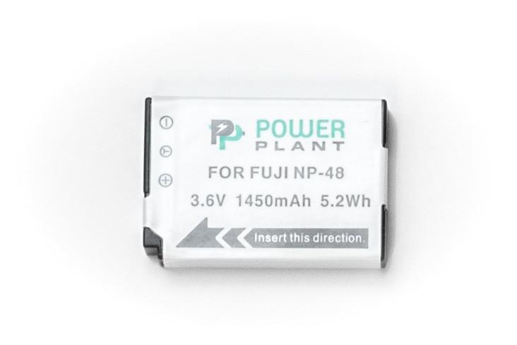 Батарейка (аккумулятор) PowerPlant Fuji NP-48 1450mAh