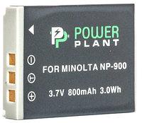 Батарейка (аккумулятор) PowerPlant Minolta NP-900, Li-80B 800mAh