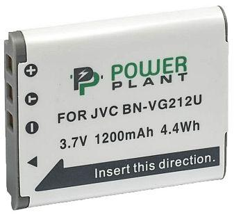 Батарейка (аккумулятор) PowerPlant JVC BN-VG212U 1200mAh