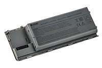 Батарея PowerPlant для ноутбука DELL Latitude D620 (PC764, DL6200LH) 11.1V 5200mAh