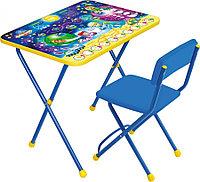 Набор мебели Ника стол+мягкий стул Космос Математика КП2/8