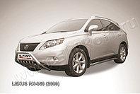 Кенгурятник d57 низкий с защитой картера Lexus RX 2009-12