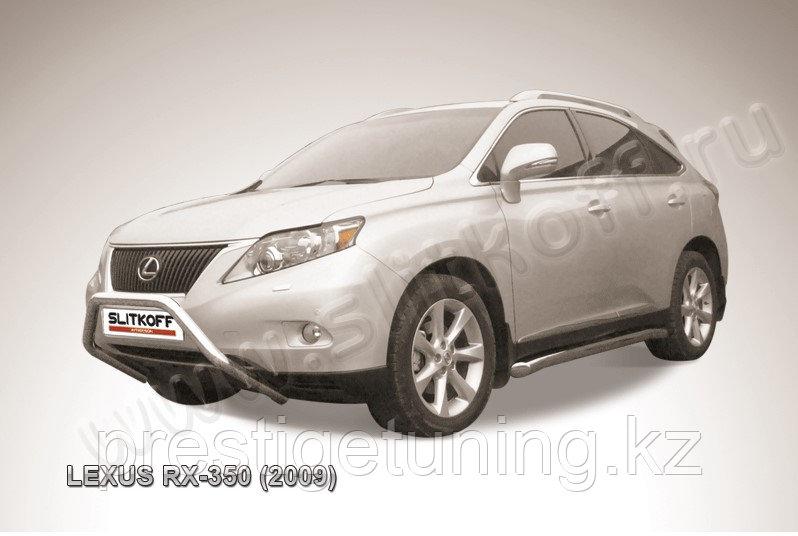 """Кенгурятник d57 низкий """"мини"""" Lexus RX 2009-12"""