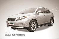 Защита переднего бампера d76 Lexus RX 2009-12