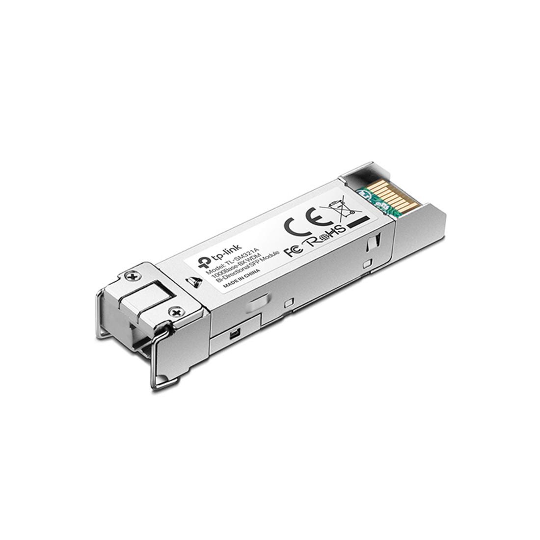 TP-LINK TL-SM321A  1000Base-BX WDM двунаправленный SFP модуль