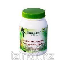 Ашваганда чурна, 100 гр, Сангам , Ashwagandha churnam, Sangam, фото 2 Ашваганда чурна, 100 гр, Сангам , Ashwa