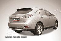 """Защита заднего бампера d57 """"скоба"""" Lexus RX 2009-12"""