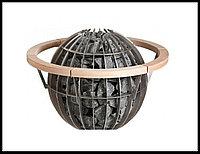 Деревянное ограждение HGL 6 для печи Harvia Globe GL70 / GL70E, фото 1