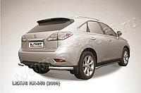 Уголки d76 Lexus RX 2009-12