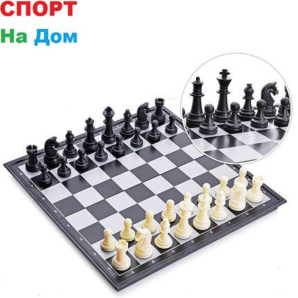 Шахматы магнитные дорожные (размеры: 32*32*2 см), фото 2
