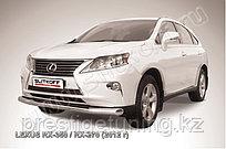 Защита переднего бампера d76 Lexus RX 2012-15