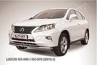 Защита переднего бампера d57 Lexus RX 2012-15