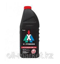 Охлаждающая жидкость Антифриз X-FREEZE red, в п/э бут.1 кг