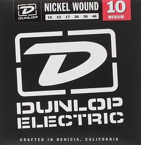 Комплект струн для электрогитары, никелированные, Light/Heavy, 10-46, Dunlop DEN0946