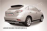 Защита заднего бампера d57 Lexus RX 2012-15