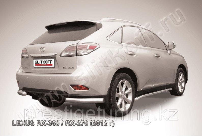 Уголки d76 Lexus RX 2012-15