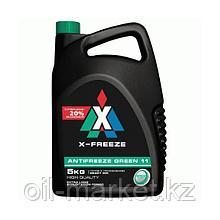 Охлаждающая жидкость ZE green, в п/э кан. 5 кг