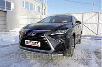 Защита переднего бампера d57 Lexus RX 2015-19
