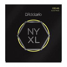 Комплект струн для электрогитары, никелированные, Super Light, 09-46, D'Addario NYXL0946 NYXL