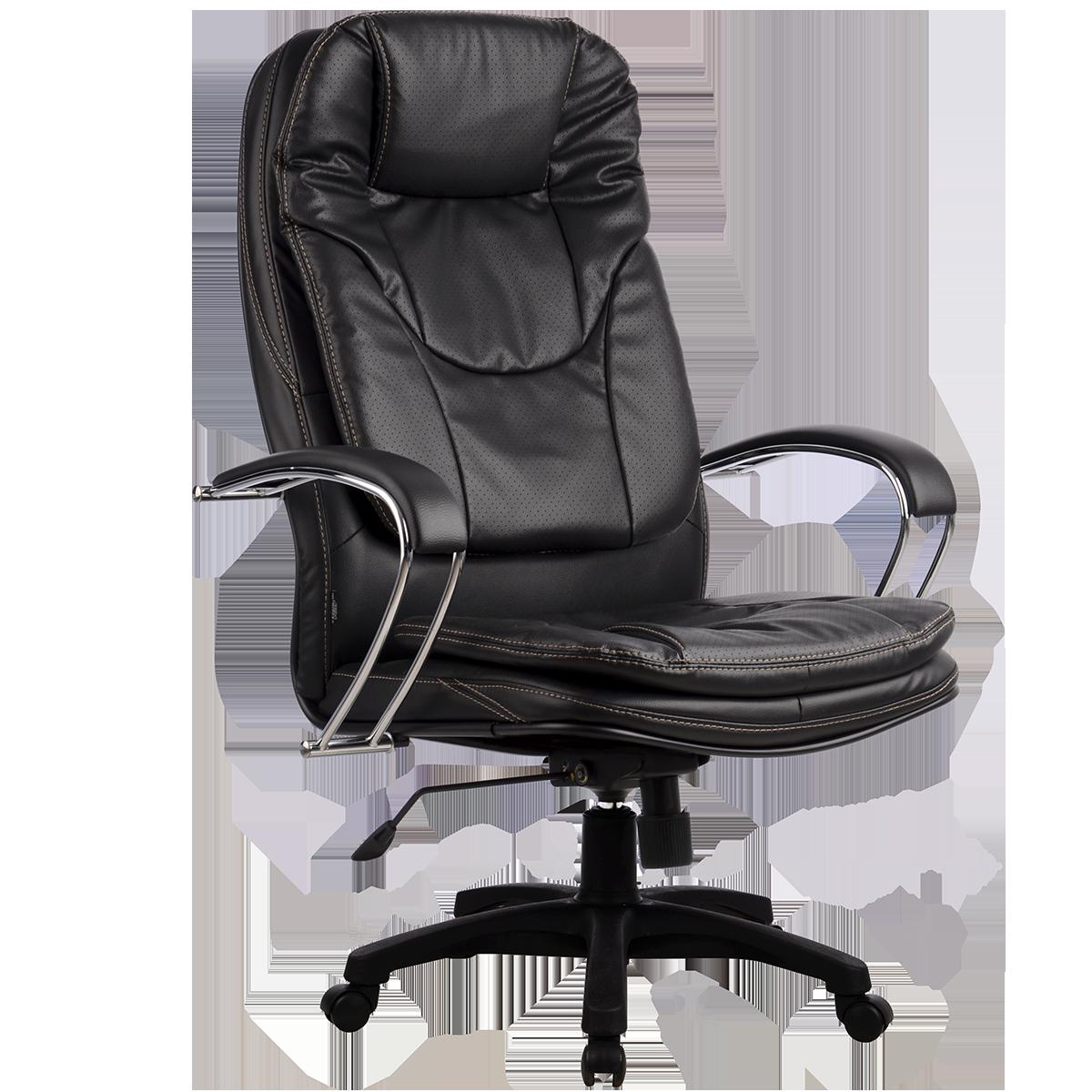 Кресла серии LUX LK-11 черный пластик