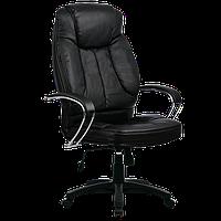 Кресла серии LUX LK-12 черный пластик