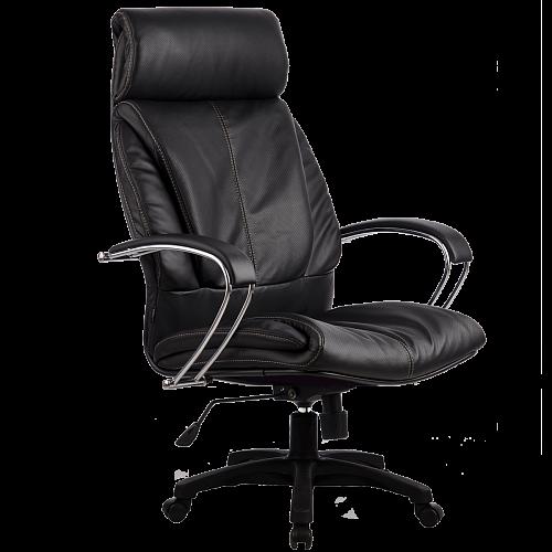 Кресла серии LUX LK-13 черный пластик