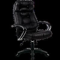 Кресла серии LUX LK-14 черный пластик