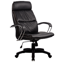 Кресла серии LUX LK-15 черный пластик