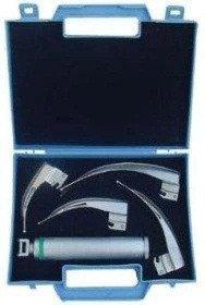 Волоконно-оптический ларингоскоп MacIntosh Мега Blade  NEW WASEEM LED-01, 4 ложки 1-4, фото 2