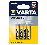 Батарейка VARTA R03P Superlife, AAA, 1.5 V (4 шт.)