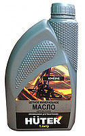 Масло цепное минеральное 80W90 для техники Huter 1 л