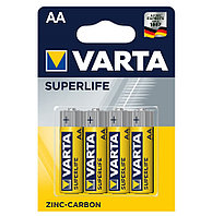 Батарейка VARTA R6P Superlife, AA, 1.5 V, 4 шт. (блистер)