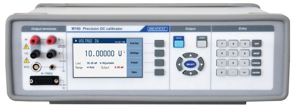 Прецизионный калибратор постоянного тока M160